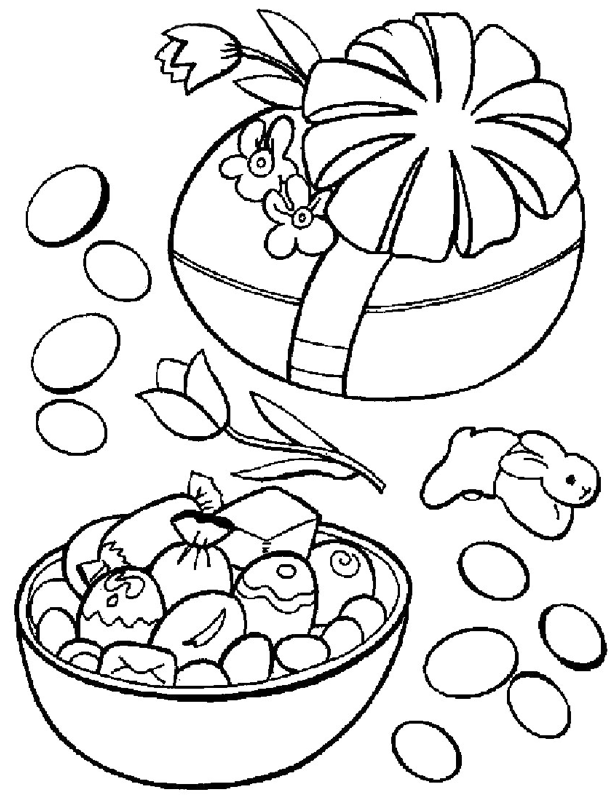Easter Candy Coloring Page Coloring Book Easter Coloring Pages Easter Coloring Book Candy Coloring Pages