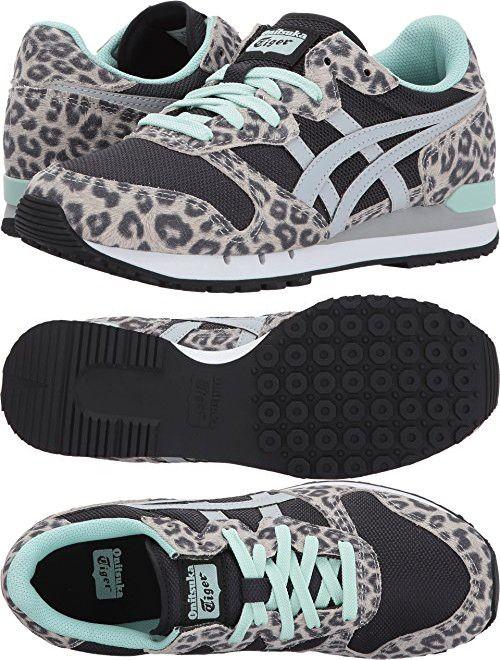 4008a7a906148 Onitsuka Tiger Womens Alvarado Black/Glacier Grey Sneaker - 9.5 ...