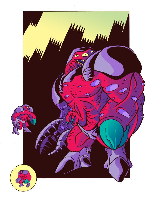 Alien Grunt by BryanTheEvery (With images)   Monster ...
