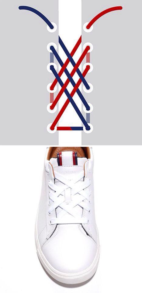 Shoe lace patterns, Shoe laces, Tie shoes
