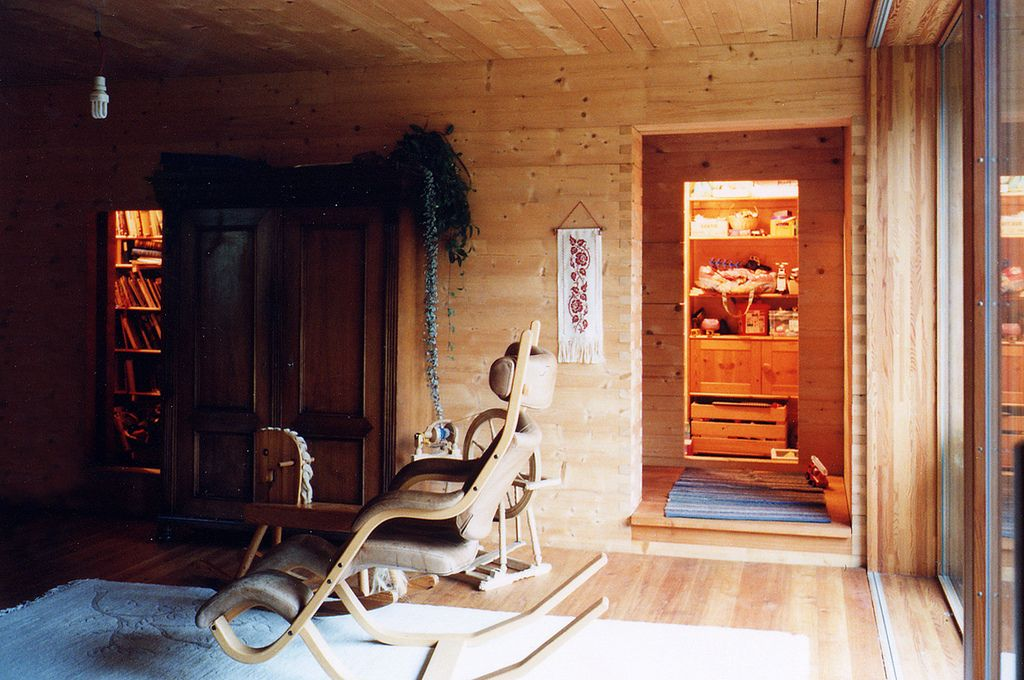 Luzi House in Jenaz, Graubünden, Switzerland