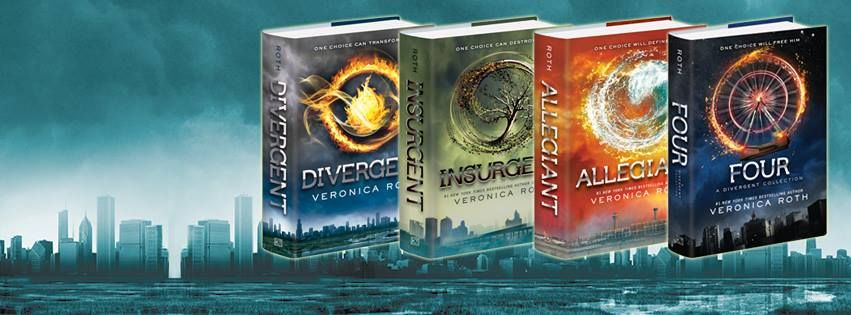 Bilderesultater for divergent all books""