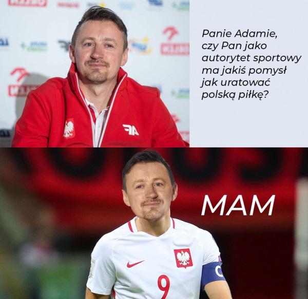 Memy o Adamie Małyszu skoki narciarskie memy, humor, gry