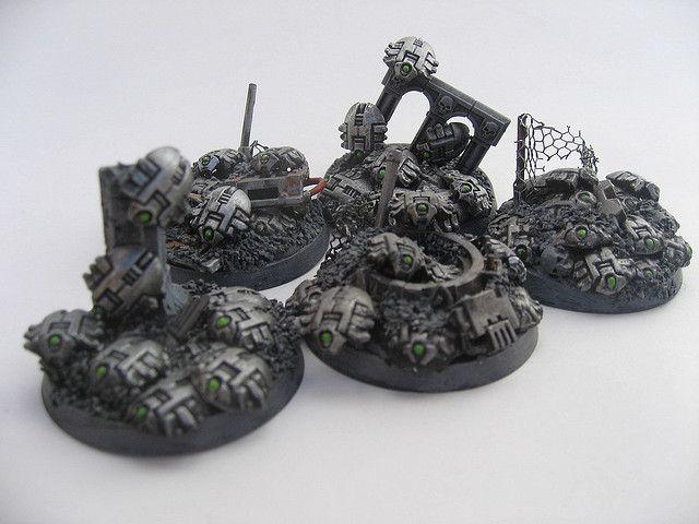 Necron Army Scarabs
