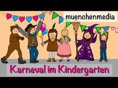 karneval im kindergarten faschingslied kinderlieder deutsch fasching muenchenmedia. Black Bedroom Furniture Sets. Home Design Ideas
