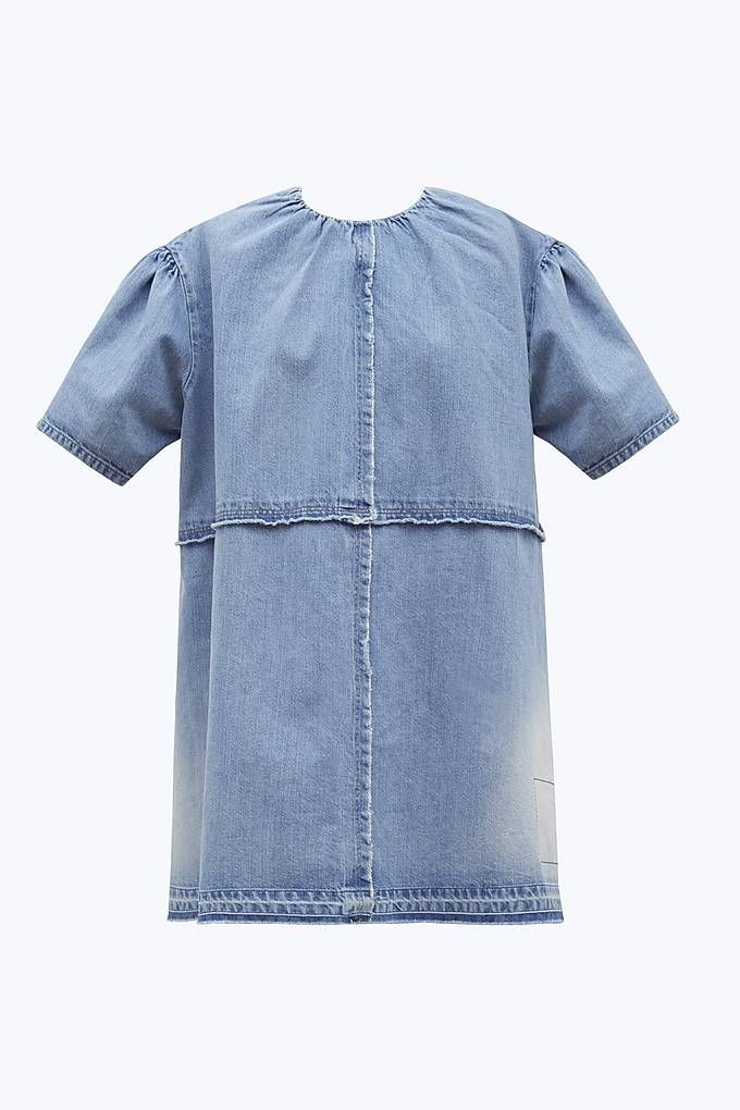 10ba68eabc Marc Jacobs Denim Mini Dress in Vintage Indigo