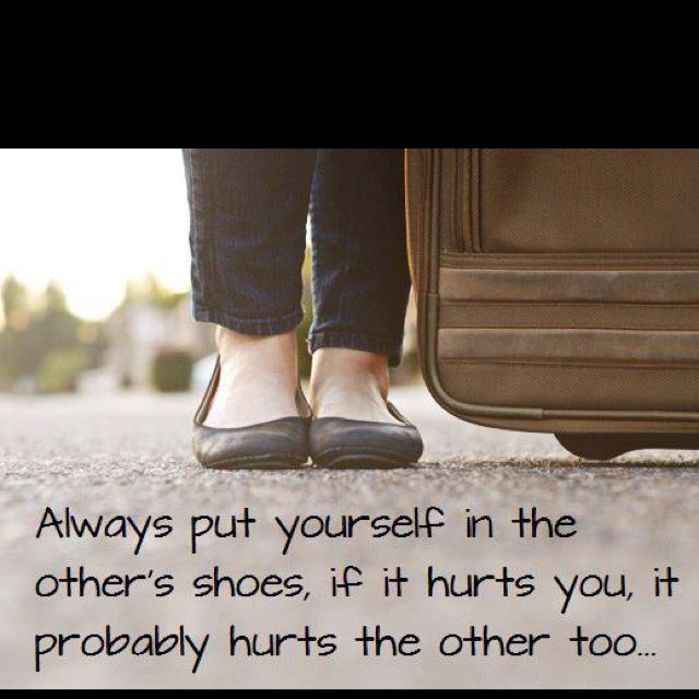 Put Yourself In Other S Shoes Meaning