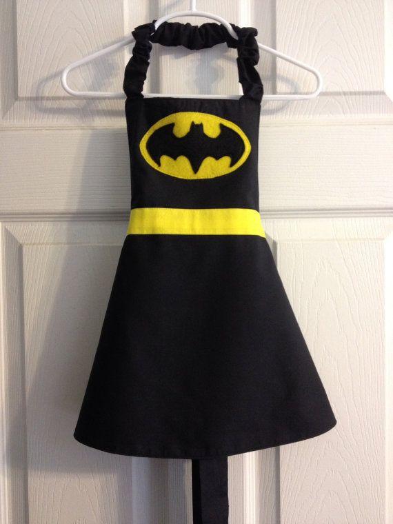 Delantal Batman | Costura | Pinterest | Schürzen, Nähideen und Nähen