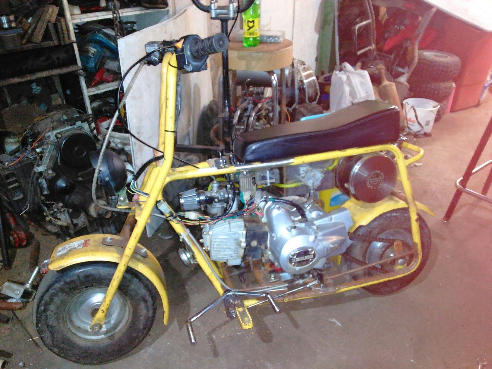 Motor Bike Brake Horn Electronics Project