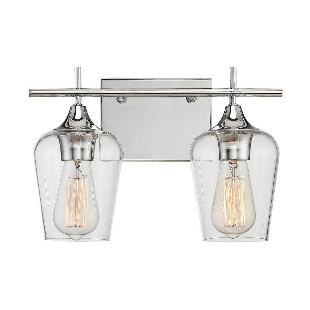 Filament Design 2-Light Polished Chrome Bath Light-ECT-SH259678 ...