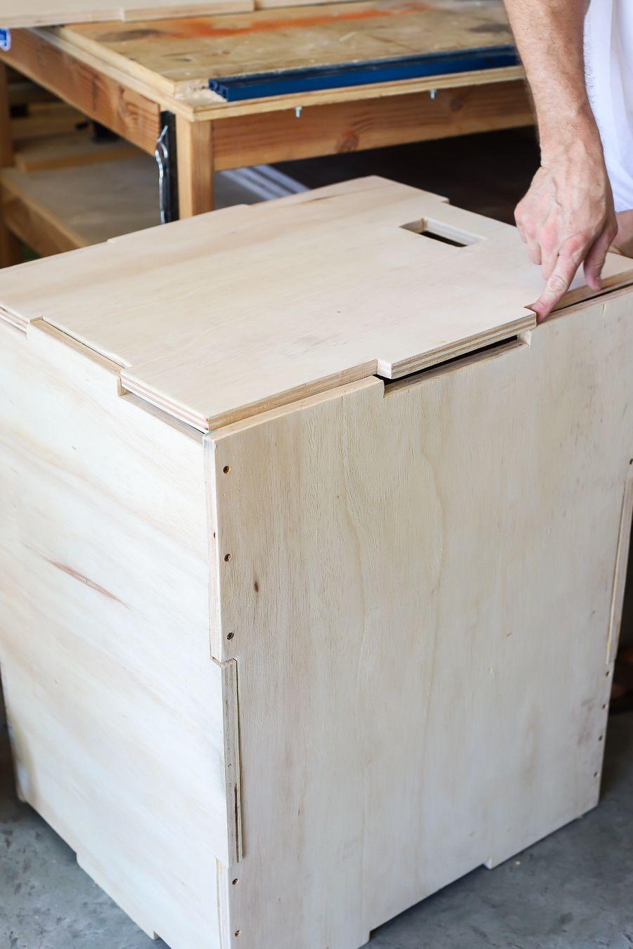 Plyometric Jump Box 3in1 Crossfit Plyo Box Fitness Step Up Dips