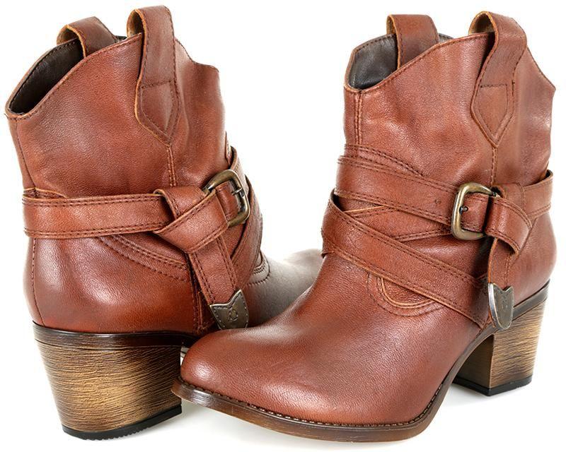 Botas Frida Cafes Calzado Para Dama Zapatos Mujer Zapatos