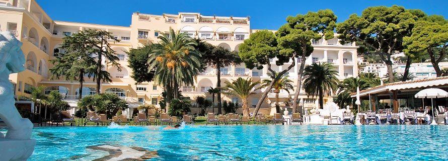 Hotel Quisisana Capri Spa Resort Luxury Hotel In Capri Italy Enjoy