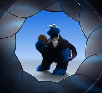 Cookie Monster is Double Stuffed 7 in The Spy Who Loves Cookies!