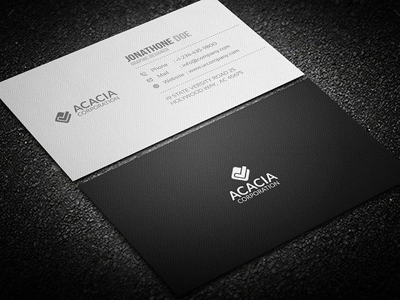 Simple Business Cardbusiness Cards Design Free Business Cards