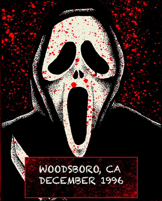 Vintage Scream Mask (Fun Word Div) *Fantastic Faces | Horror
