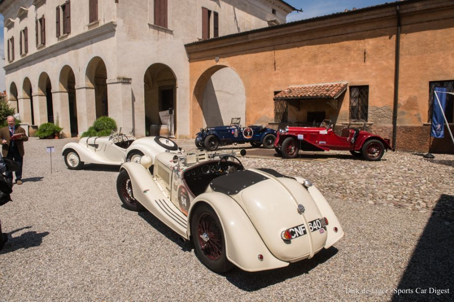 MM Concours 40 Mille Miglia Concorso 2013   Report and Photos