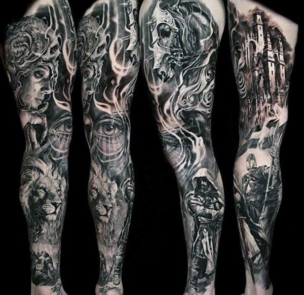 103 Best Black And Grey Tattoos In 2020 Cool And Unique Designs Black And Grey Tattoos For Men Tattoos For Guys Sleeve Tattoos