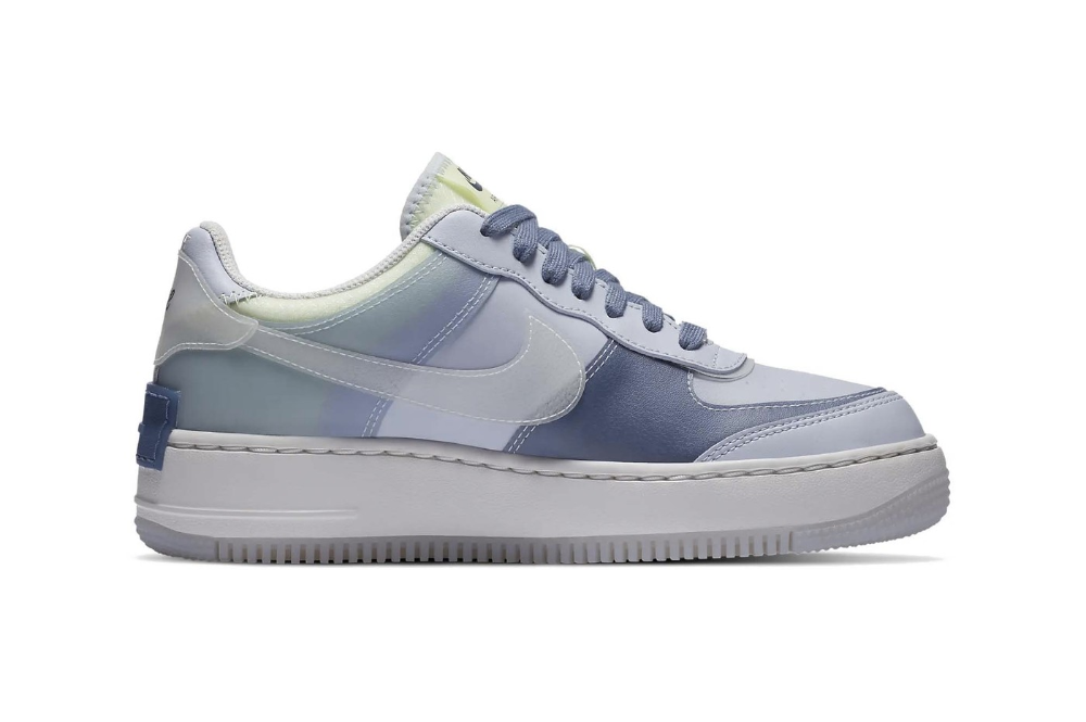 """Nike Dresses the Air Force 1 Shadow SE in """"Ghost/World Indigo"""""""