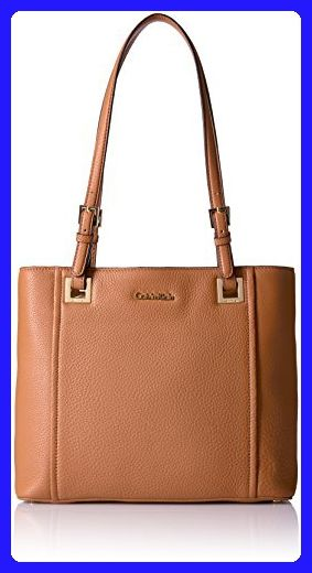 e56f70a24f Calvin Klein Key Item Classic Pebble Tote, Caramel - Shoulder bags (*Amazon  Partner-Link)