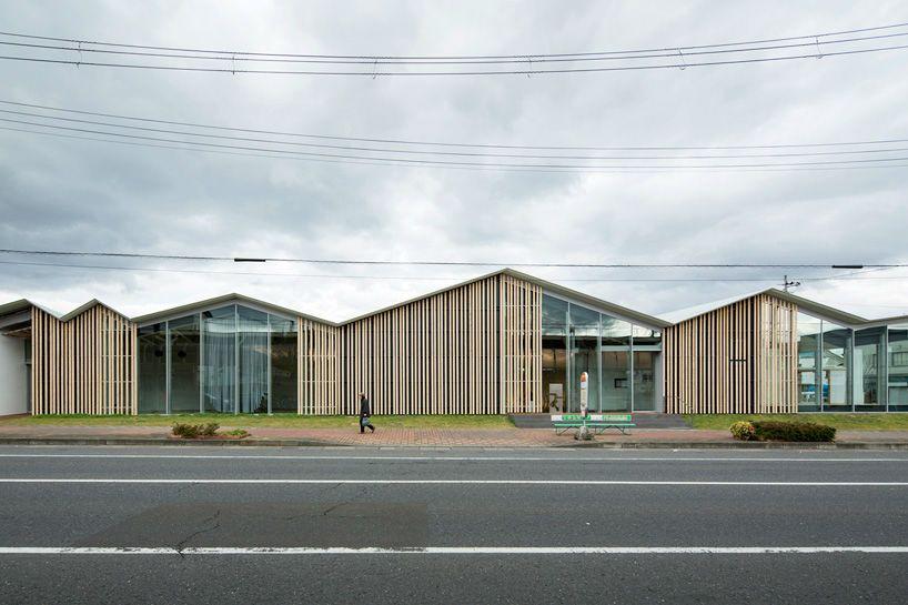Community Centre in Towanda Plaza   Kengo Kuma