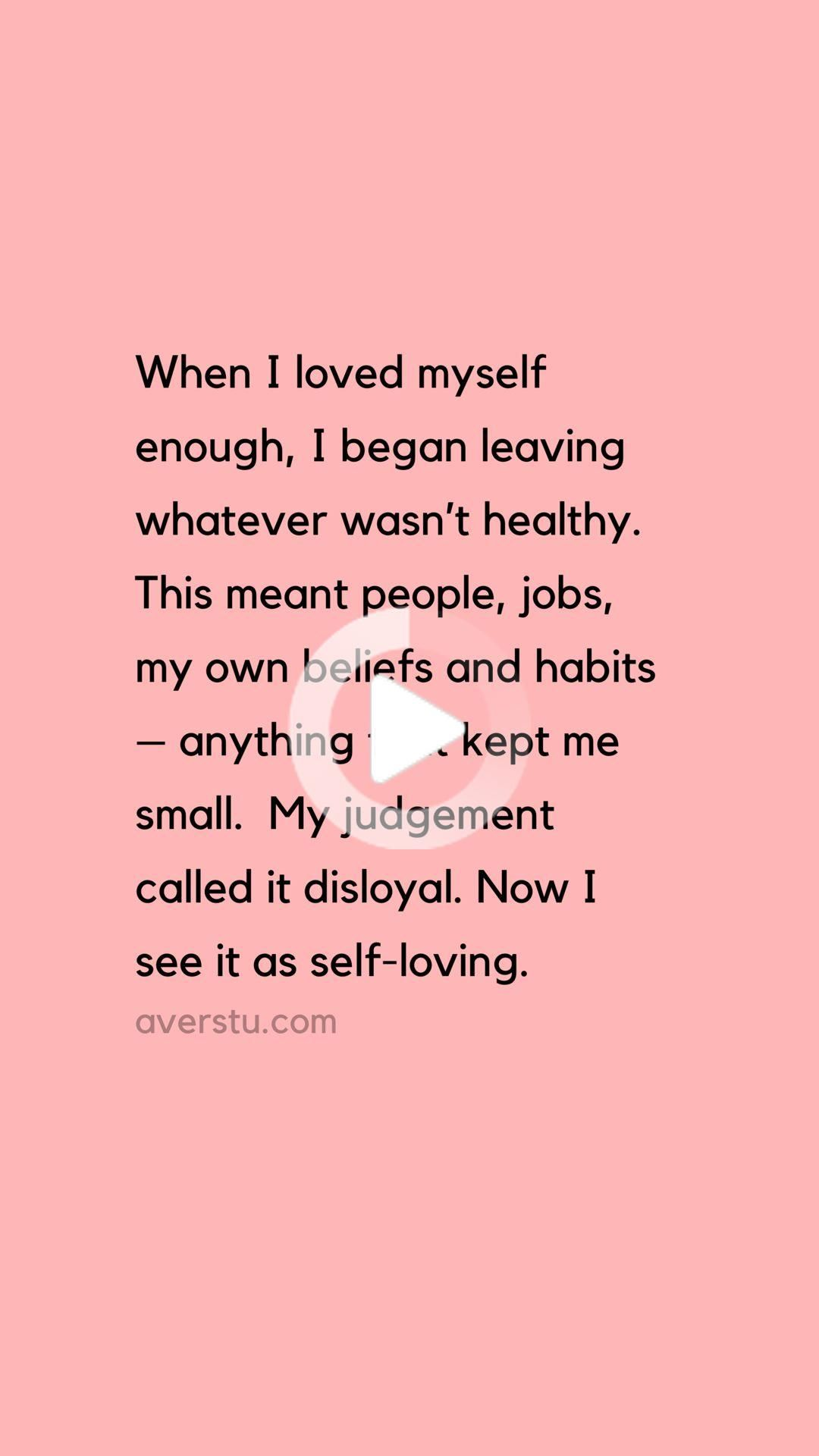 Here's The Reality Of SelfLove, And Why It's So Important