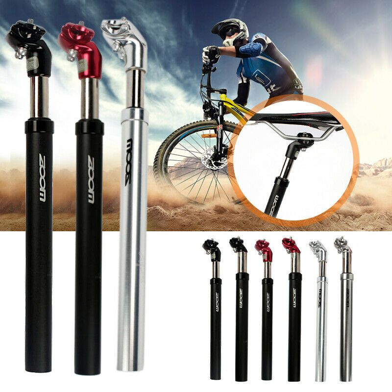 MTB Bike Cycling Bicycle Saddle Seat Post Seatpost Hydraulic Suspension