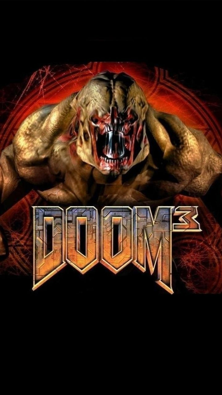 Iphone 5 Video Game Doom 3 Wallpaper Id 202399 Doom 3 Doom Video Game Collection