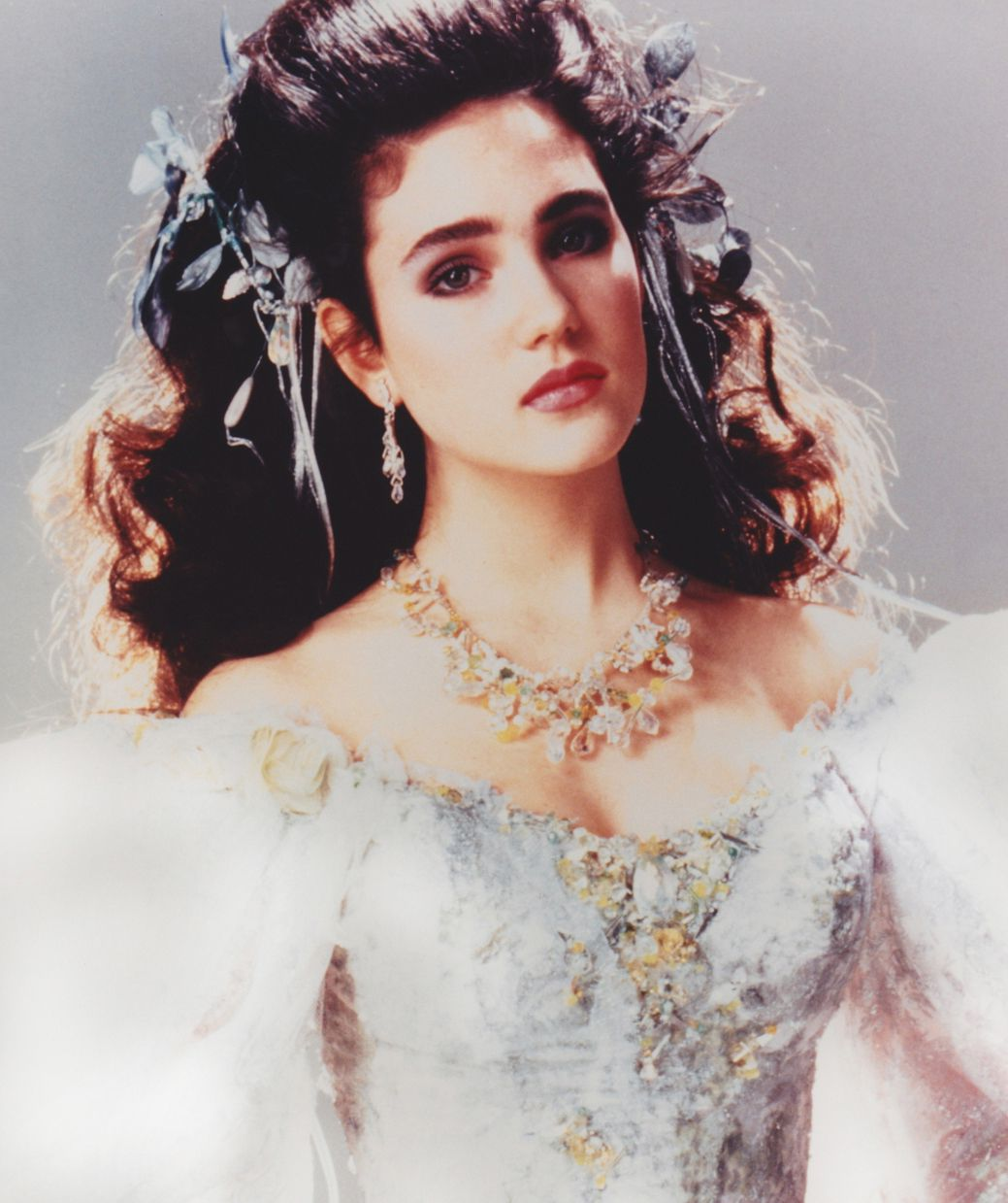 1986 - Jennifer Connelly as Sarah in Labyrinth ... Labyrinth 1986 Sarah
