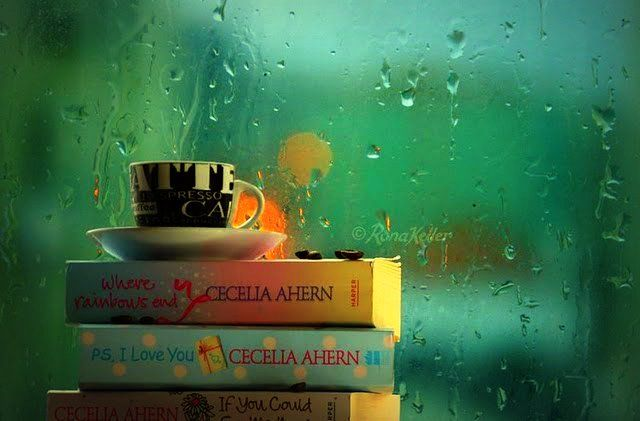 Books, thea and rainy days