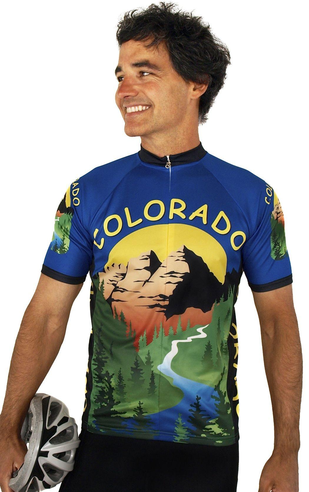 Colorado Cycling Jersey Bike jersey design, Bike jersey