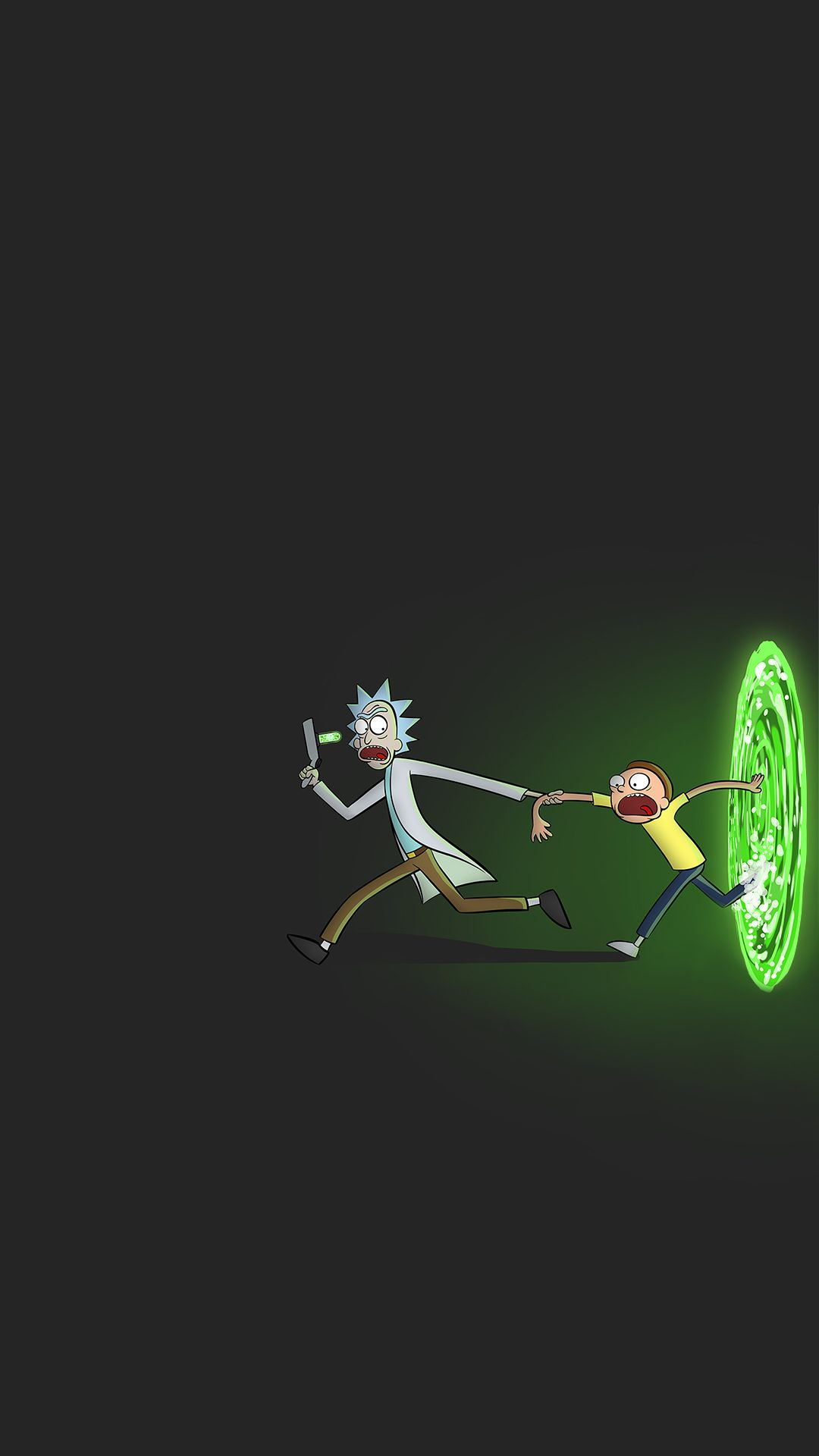 Rick And Morty Iphone Wallpaper Black Keren Papeis De Parede
