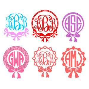 Ribbon Circle Round Monogram Cuttable Design Cut File. Vector, Clipart, Digital Scrapbooking Download, Available in JPEG, PDF, EPS, DXF and SVG. Works with Cricut, Design Space, Sure Cuts A Lot, Make the Cut!, Inkscape, CorelDraw, Adobe Illustrator, Silhouette Cameo, Brother ScanNCut and other compatible software.