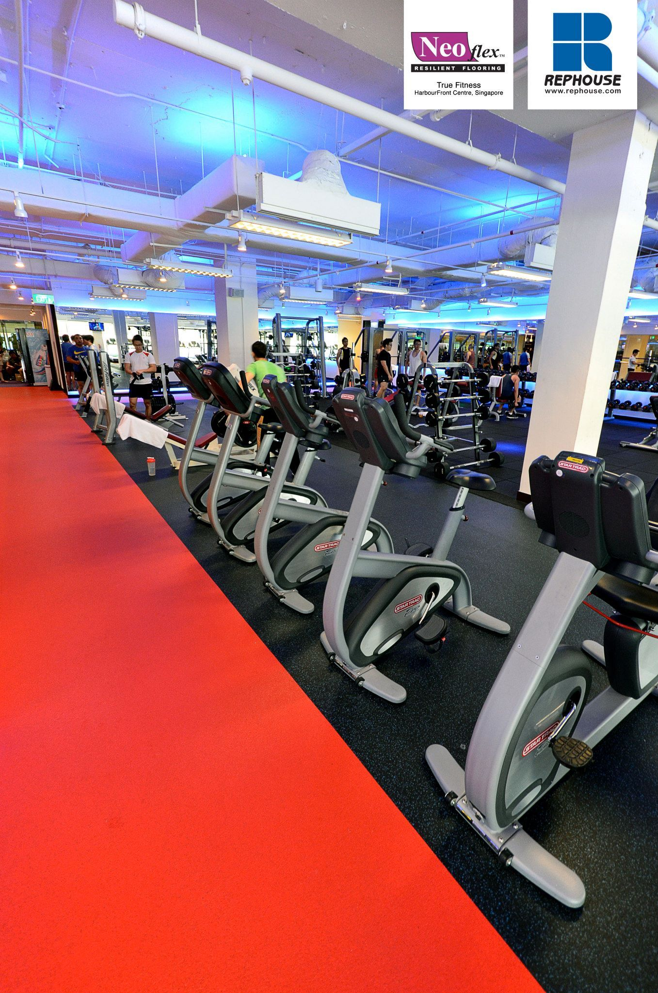 Neoflex 800 Series Rubber Fitness Flooring True Fitness