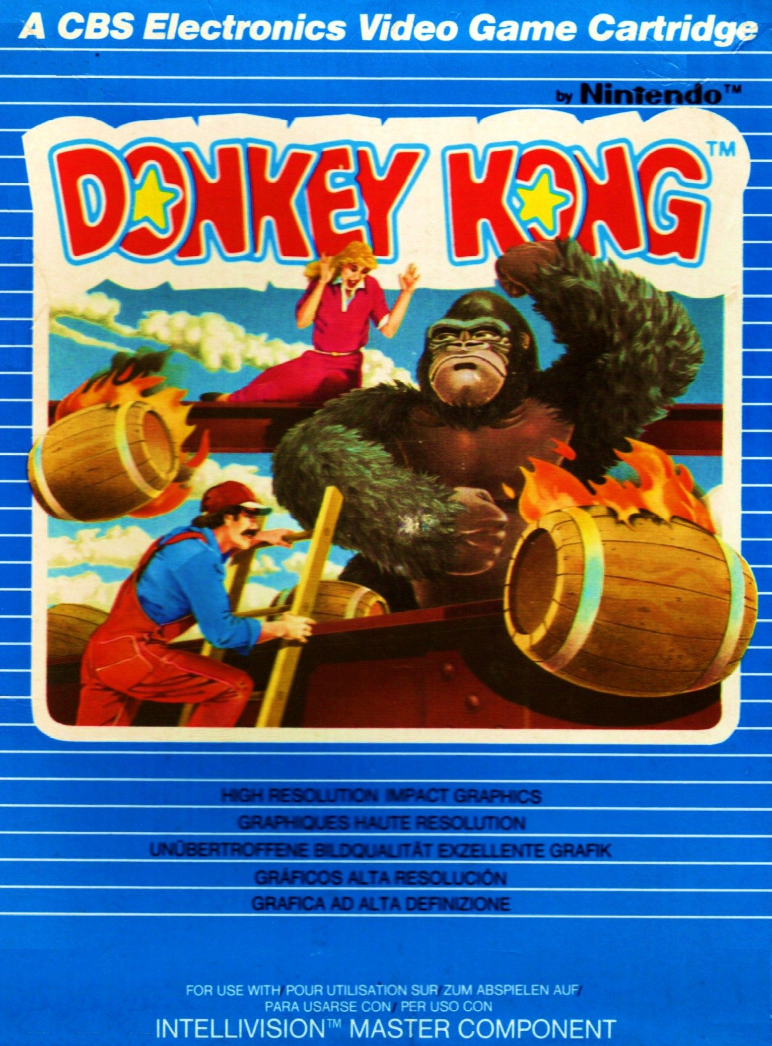 Donkey Kong An addicting flash remake of Nintendo's
