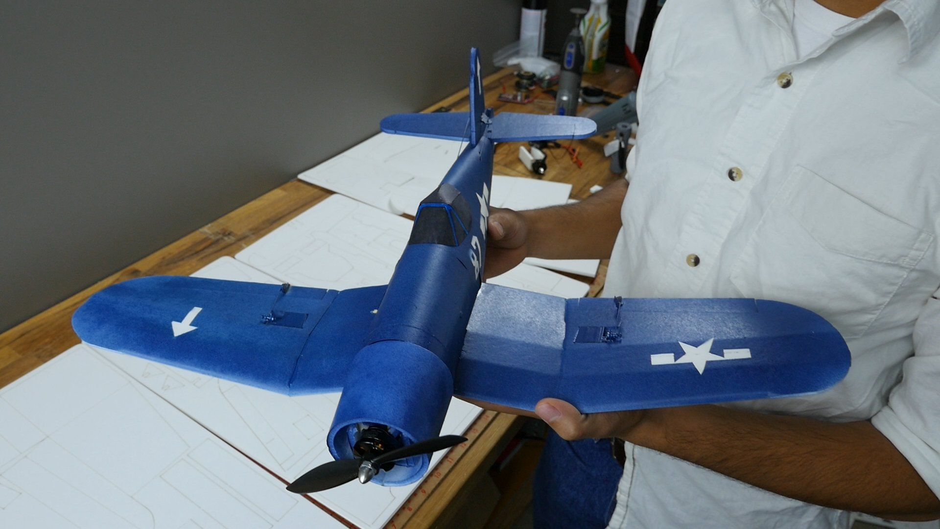 how to build a mini plane