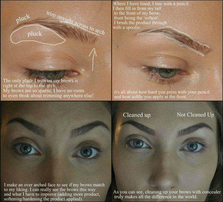 Brows | Eyebrow makeup, How to grow eyebrows, Brows