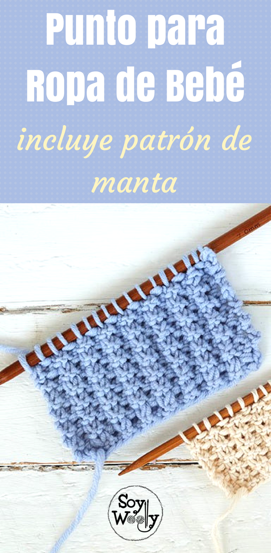 Punto fácil para tejer ropa de bebés en dos agujas | CROCHET 3 ...
