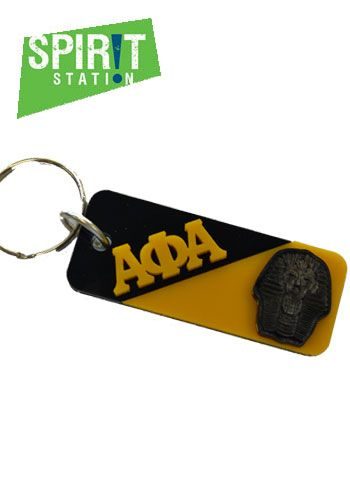 Alpha Phi Alpha Split Symbol Keychain-On sale this week! (1