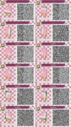 Image Result For Acnl Qr Codes Bodendesigns Rosen Acnl Chemins