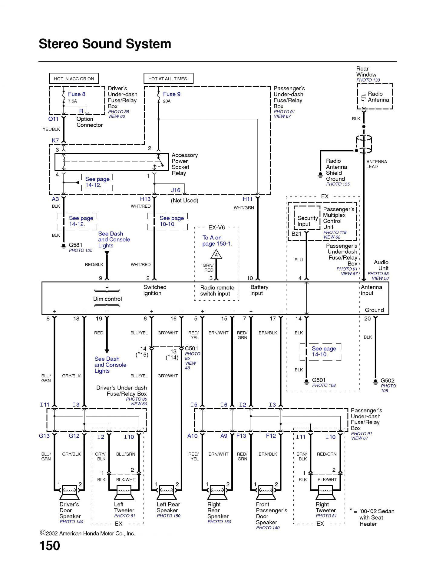 1998 Honda Accord Wiring Diagram - volovets.info | Diagram ...
