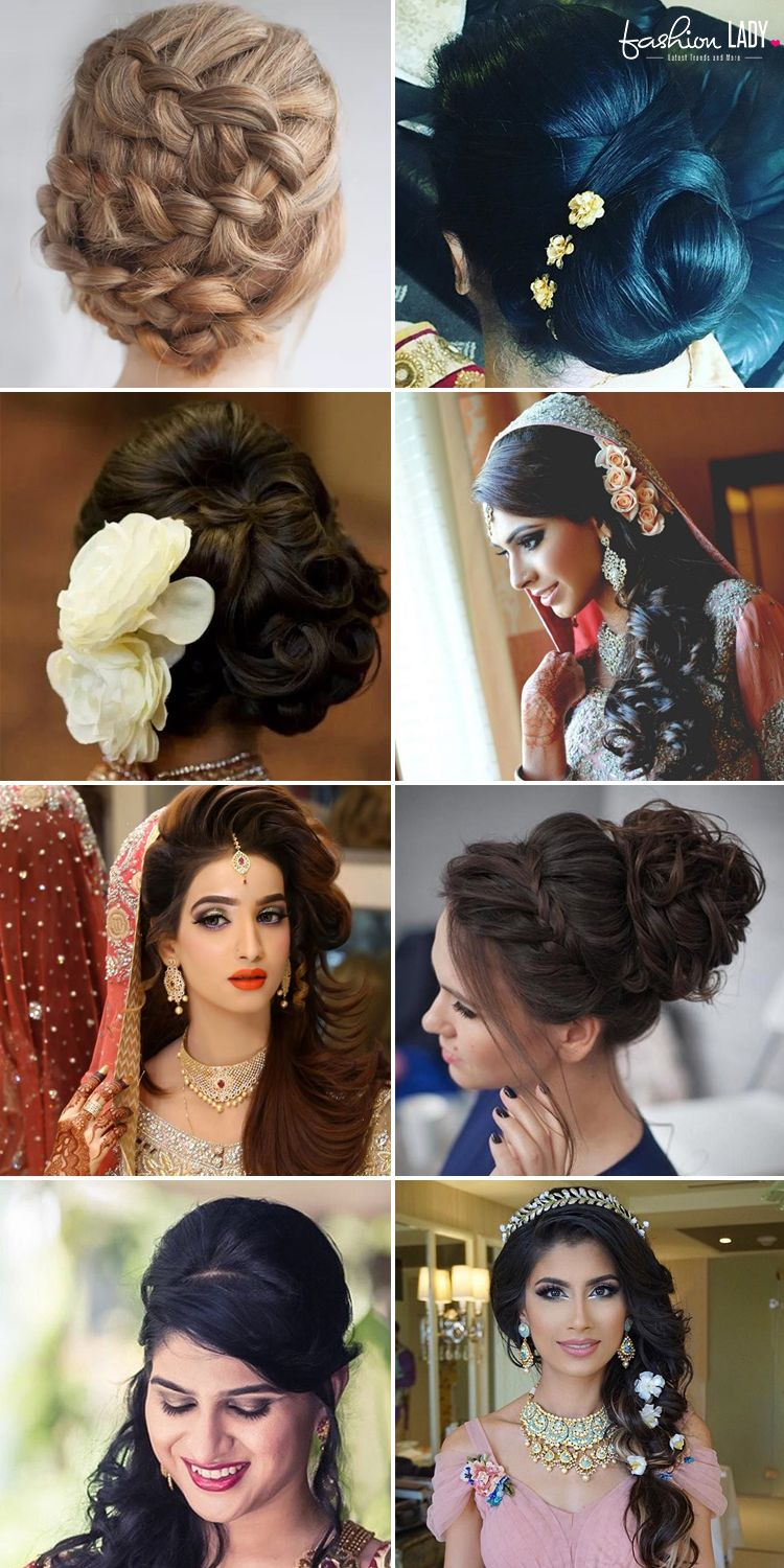 60+ traditional indian bridal hairstyles for your wedding