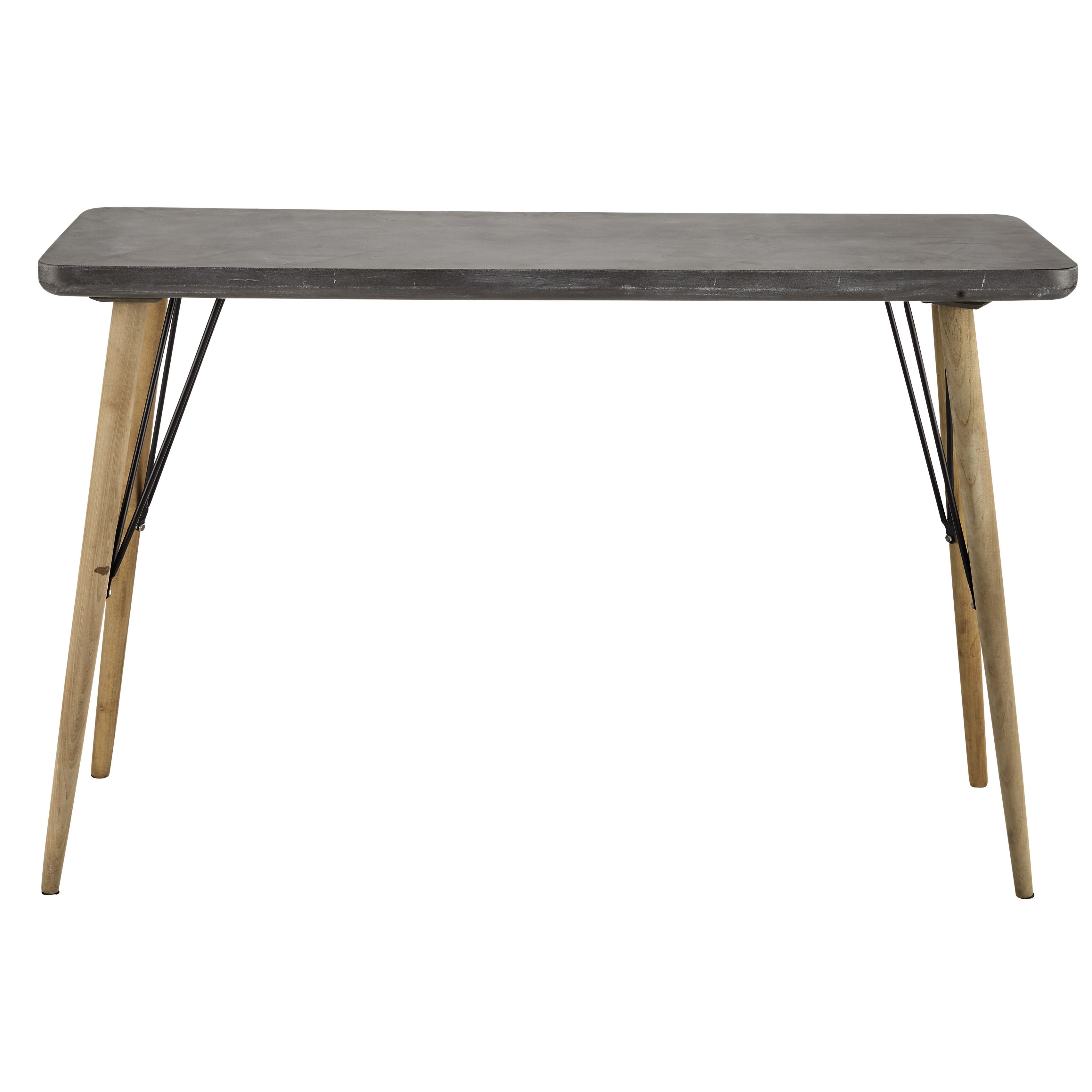 Table console grise | Cleveland, Consoles and Console tables