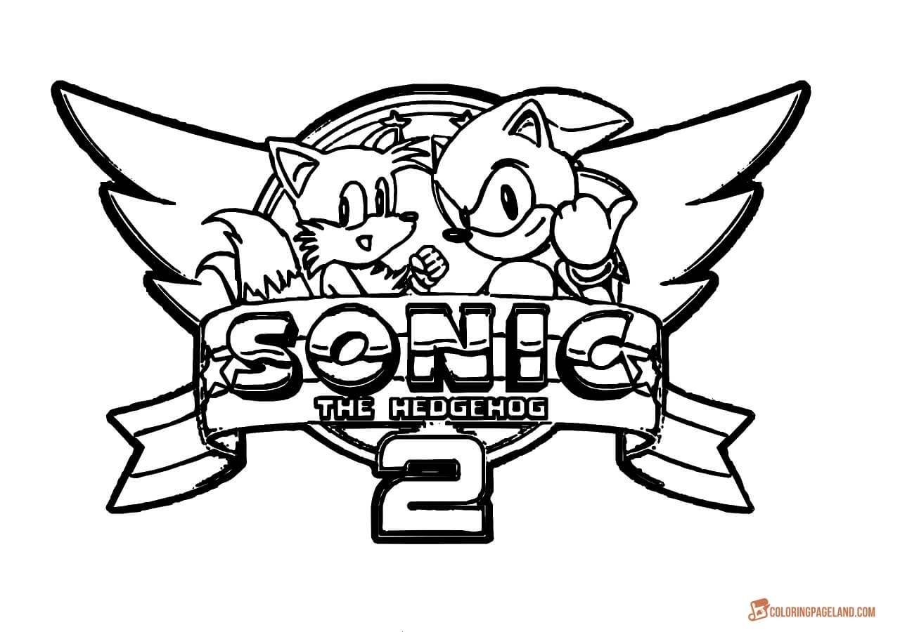 Sonic Running Printable Coloring Picture For Kids How To Draw