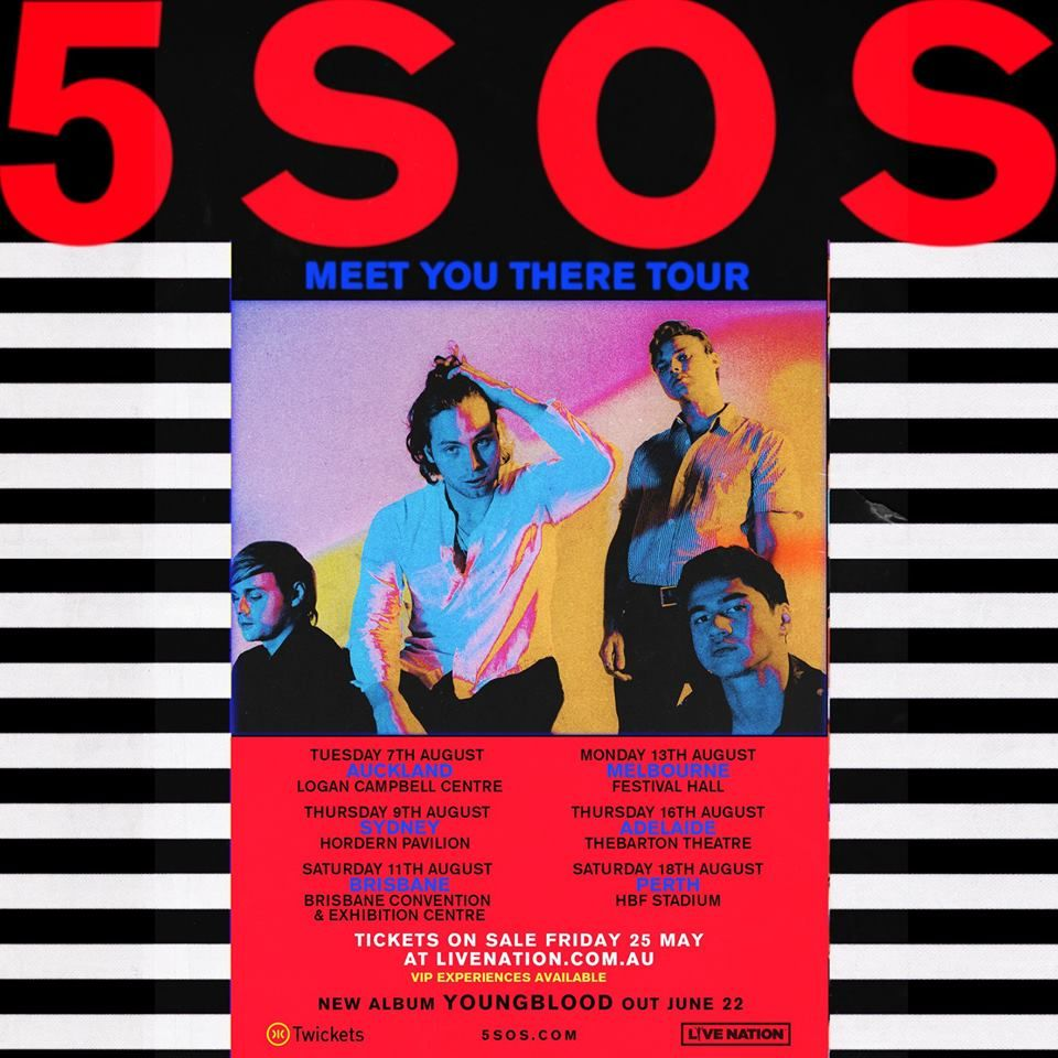 Australia Meet You There Tour 5 Seconds Of Summer May 2018 5