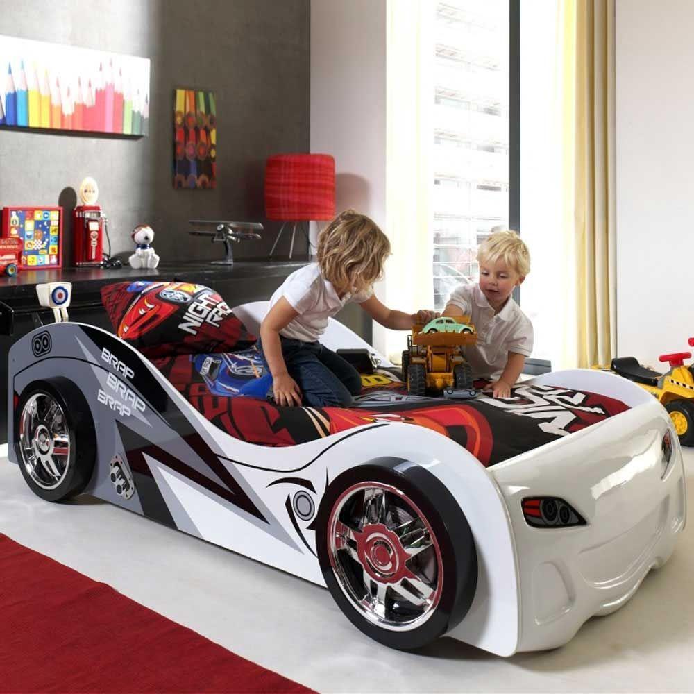 Kinderbett in Rennauto-Design 90x200cm Jetzt bestellen unter: https ...