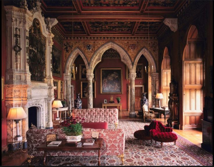 Mount Stuart House Isle Of Bute Scotland