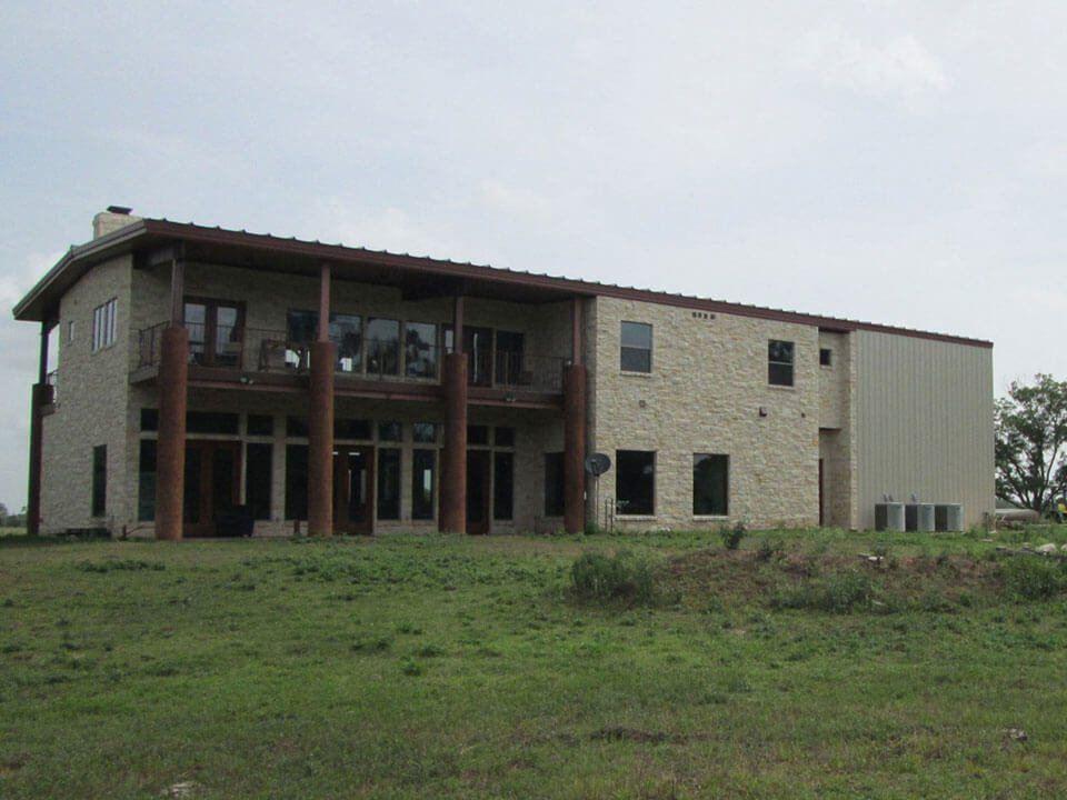 charming steel building home designs #3: House · Modern metal home design