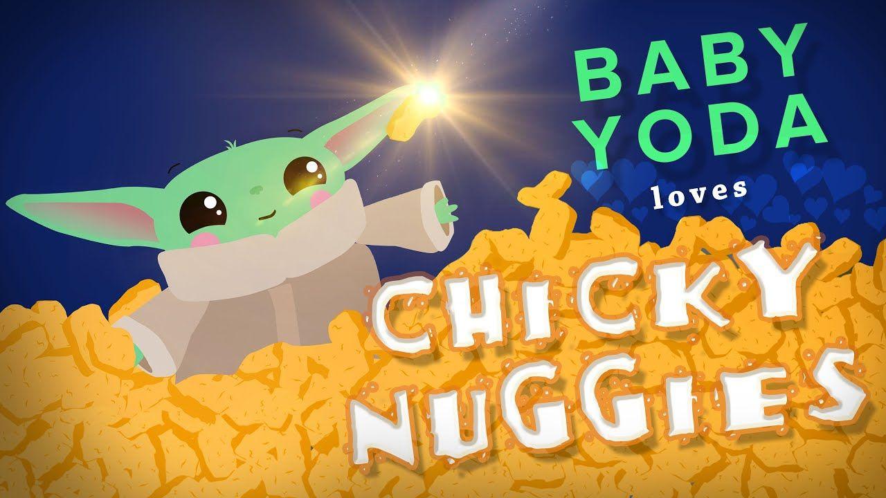 Baby Yoda Chicken Nuggets Song Youtube Yoda Meme Funny Star Wars Memes Yoda