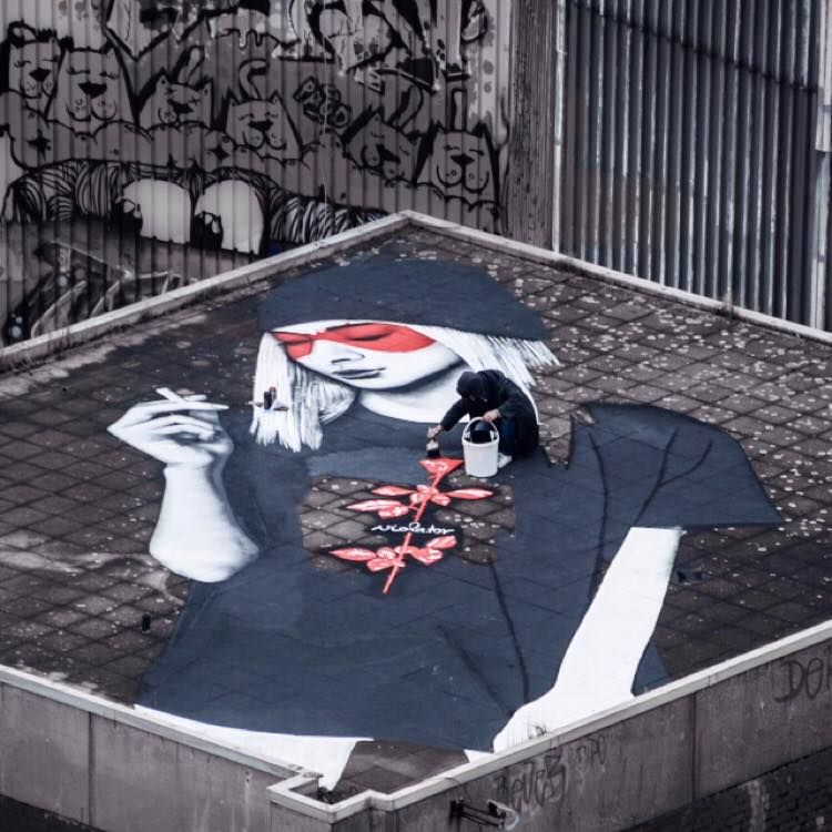 Fin Dac on the roof, 2015
